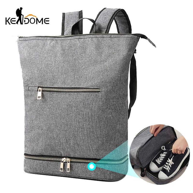 Sports Gym Backpack Anti-theft Travel Bag Dry And Wet Rucksack Fitness Handbag For Shoe Tote Gymtas Tas Sac De Sport 2019 XA220D