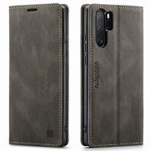 Matowy pokrowiec do Huawei P30 Por etui z klapką Retro portfel magnetyczny pokrowiec do Huawei P30 Lite etui luksusowy biznes skórzany pokrowiec
