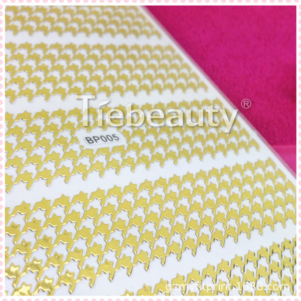 Bp41-48 Bronze Nail Sticker Japanese Korean Popular Nail Sticker Fashion Texture Manicure Stickers Tmall Signature Brand