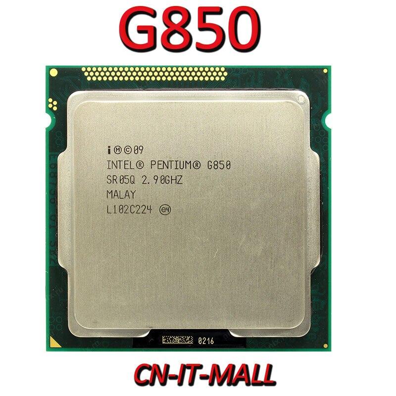 Intel Pentium G850 CPU 2.9G 3M 2 Core 2 Thread LGA1155 Processor