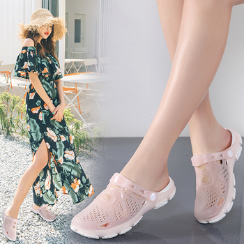 Women Sandals Summer Slippers Women Outdoor Beach Casual Shoes Female Sandals Water Shoes Sandals Light Breathable Ladies Shoes