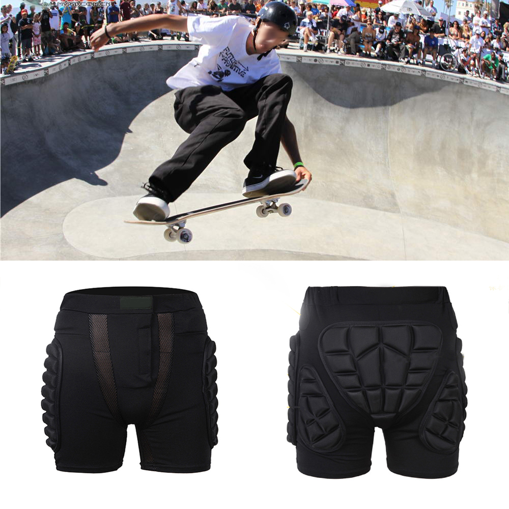 Outdoor Sports Skiing Skating Snowboarding   Shorts   Hip Protective Bottom Padded for Ski & Roller Skate & Snowboard Hip Protection