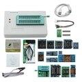 Mais novo V8.33 Tl866Ii Plus Tl866 Minipro Universal Programador Avr Pic Bios Usb Programador Nand Flash + 17 Pcs Adaptador