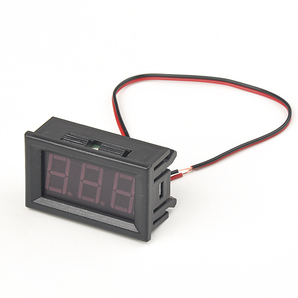 0.56in Safe Reverse Connection Protection Auto Led Measuring DC 4.5-30V Detect Mini Universal Digital Voltmeter