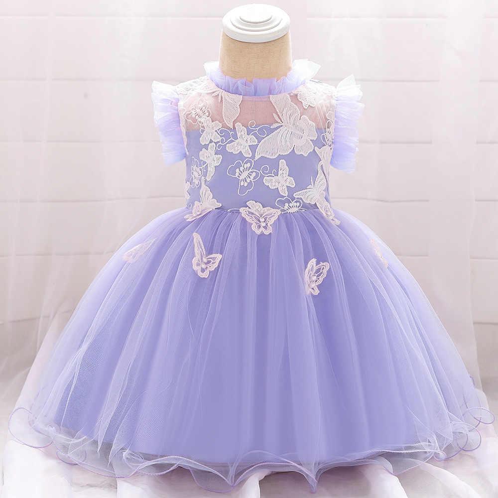 Зимнее платье для маленьких девочек Крещение новорожденного платья для девочек, наряд для первого дня рождения праздничное платье принцессы для девочек vestido infantil