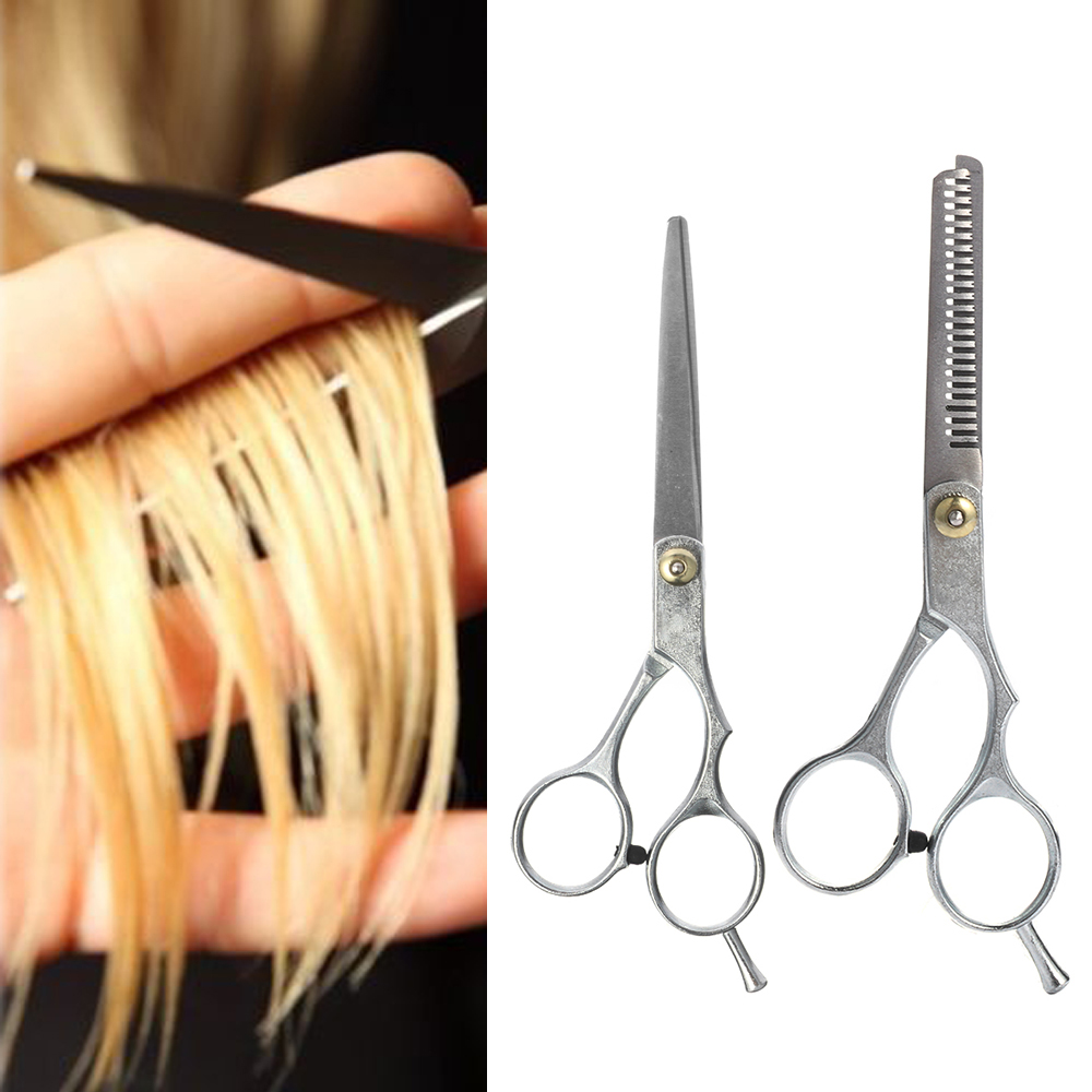 1Pcs Hot Professional Stainless Steel Barber Hair Cutting Thinning Scissors Salon Shears Hairdressing Set Hair Styling Tools