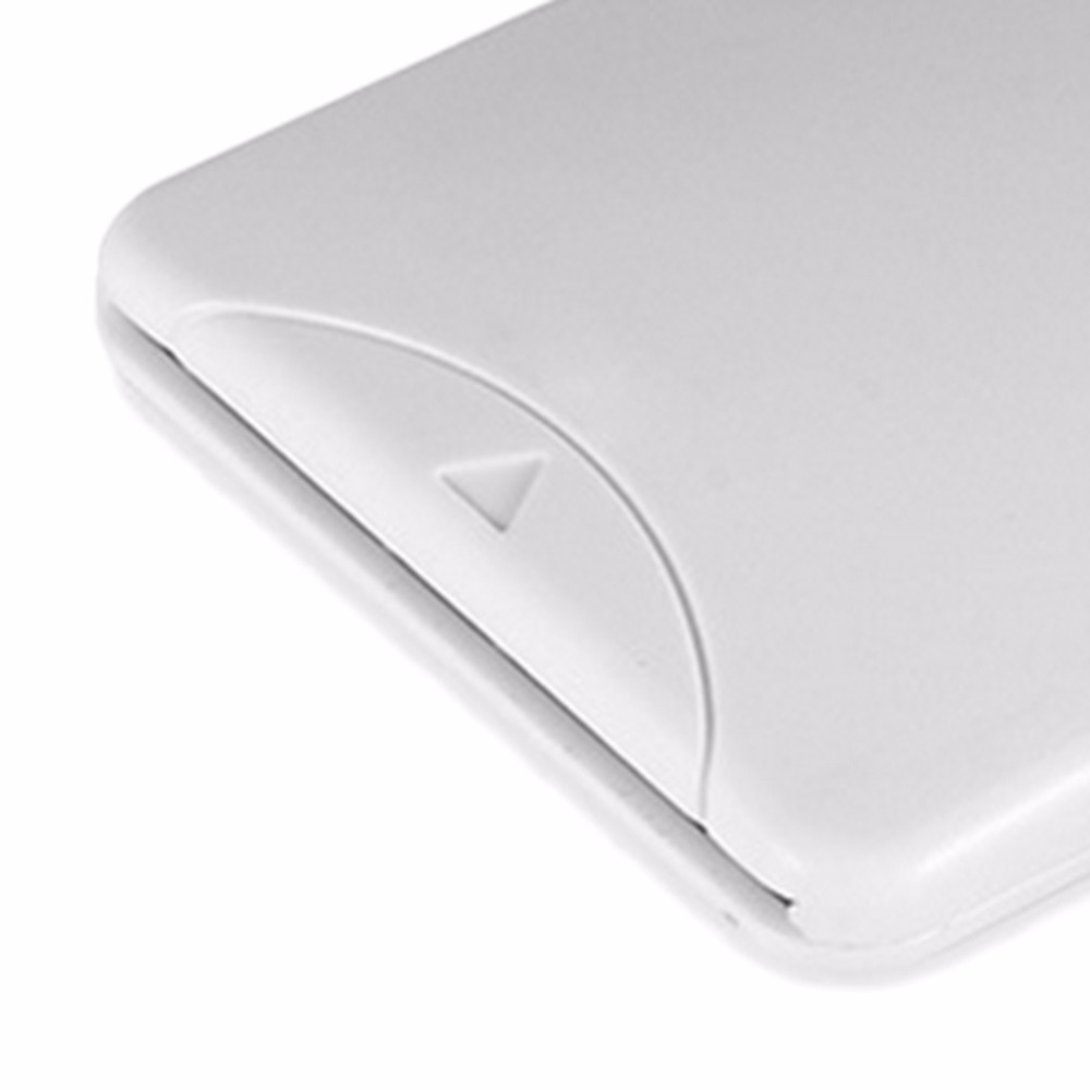 Portable White ABS USB Contact Smart Chip Card IC Cards Reader with SIM Slot