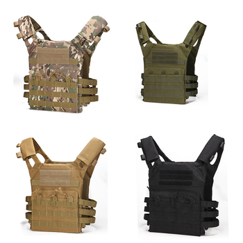 Wholesale Army Green Tactical Combat Vest JPC Outdoor Hunting Wargame Paintball Protective Plate Carrier Waistcoat Airsoft - discount item  49% OFF Hunting