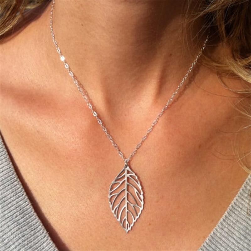 Высокое качество Bijoux ininfity Сердце Сова Кристалл крест лист минималистичные короткие Подвески до ключицы ожерелья для женщин ювелирные изделия цепи ожерелье - Окраска металла: 615 silver