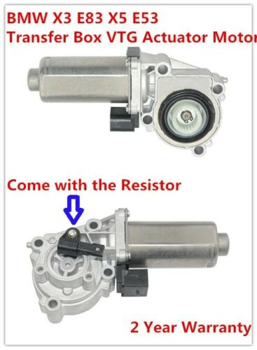 AP03 Transfer Case Shift Motor Actuator with Resistor 27107566296 For BMW X3 E83 X5 E53 E70 F15 F85 F25 ATC400/ATC500/ ATC700