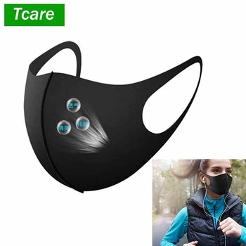 1Pcs Fashion Face Mouth Mask Anti Dust Mask Filter Windproof Mouth-muffle Bacteria Proof Flu Face Masks Care Reusable Washable