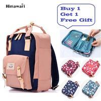 Fashion Women Laptop Backpack Female Nylon Leisure Travel Backpack Large Capacity Bolsa Escolar Bagpack Girl School Bag