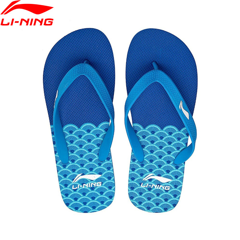 (Break Code)Li-Ning Men Beach & Outdoor Sandals Breathable Slippers LiNing Li Ning Leisure Sneakers Sport Shoes ALSN007 XMT280