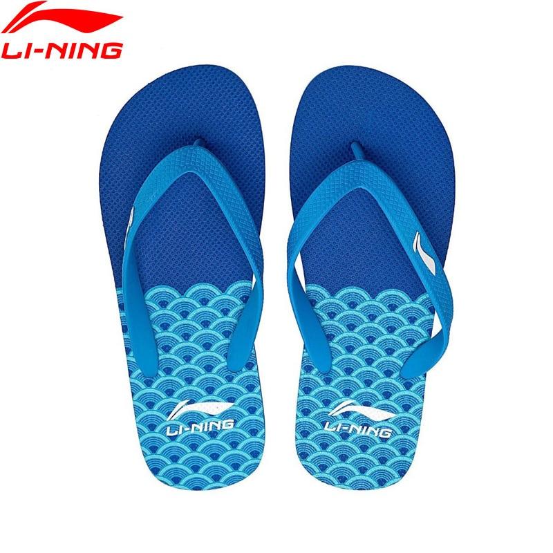 (Break Code)Li-Ning Men Beach & Outdoor Sandals Breathable Slippers LiNing Li Ning Leisure Sneakers Sport Shoes ALSN007 XMT280