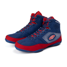 Professional Men Wrestling Shoes Rubber Outsole BreathableBoxing Boots men Fitness Training Sneakers