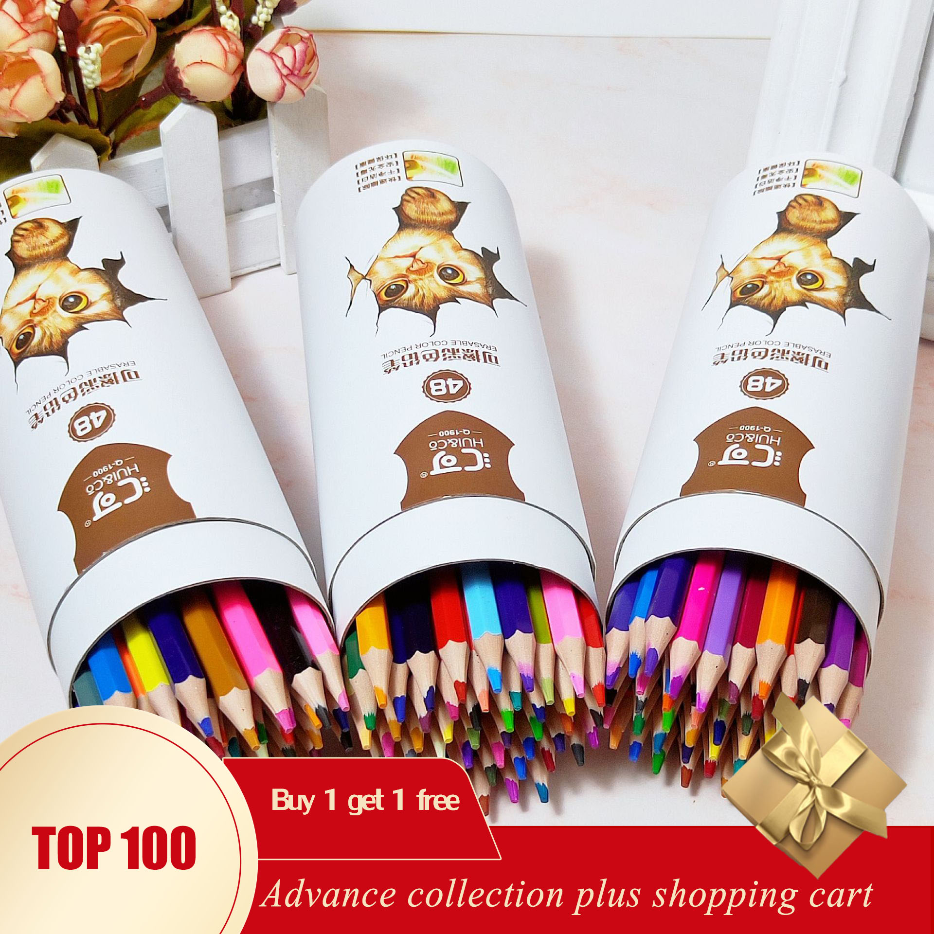 Lapices De Colores Material Escolar Papelaria Kit Pastel Pencils For Drawing Kids Dibujos Para Colorear Erasable Art Supplies