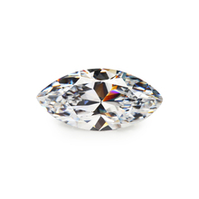Size 1.5x3mm ~ 8x16mm 5A Marquise Shape White Synthetic Cubic Zirconia Stone Loose
