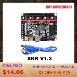 BIGTREETECH SKR V1.3 płyta sterowania 32Bit Smoothieboard TMC2208 TMC2209 sterownik vs mks gen L SKR V1.4 dla Ender 3 części drukarki 3D w Części i akcesoria do drukarek 3D od Komputer i biuro na