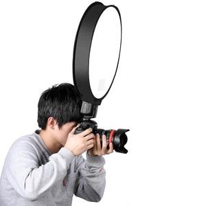 Image 4 - 30cm/40cm Photography Photo Studio Portable Mini Round Soft Box Studio Shooting Tent Diffuser SoftBox Universal for DSLR Camera
