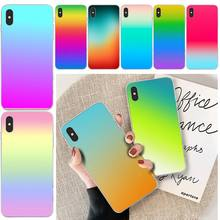 LJHYDFCNB Colorful Color Coque Shell Phone Case For iphone 6 6s plus 7 8 plus X XS XR XS MAX 11 11 pro 11 Pro Max Cover ljhydfcnb wave spray cover soft shell phone case for iphone 6 6s plus 7 8 plus x xs xr xs max 11 11 pro 11 pro max cover