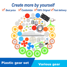 Toy Electronics Gear-Gearbox Repair-Assembly-Kit Plastic Child Robot 112pcs Aircraft