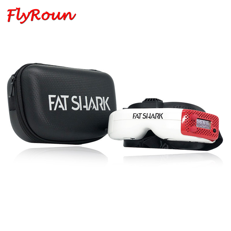 Hot Sale FatShark Dominator HDO 2 FPV Goggles 1280x960 OLED Display 46 Degree Field of View 4:3/16:9 Video Headset for RC Drone image