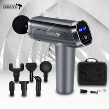 OSISIYO Massage Gun Fascia Gun Muscle Massage Relax Exercise Fitness Shaping Electric Massager Pain Relief Body Massager