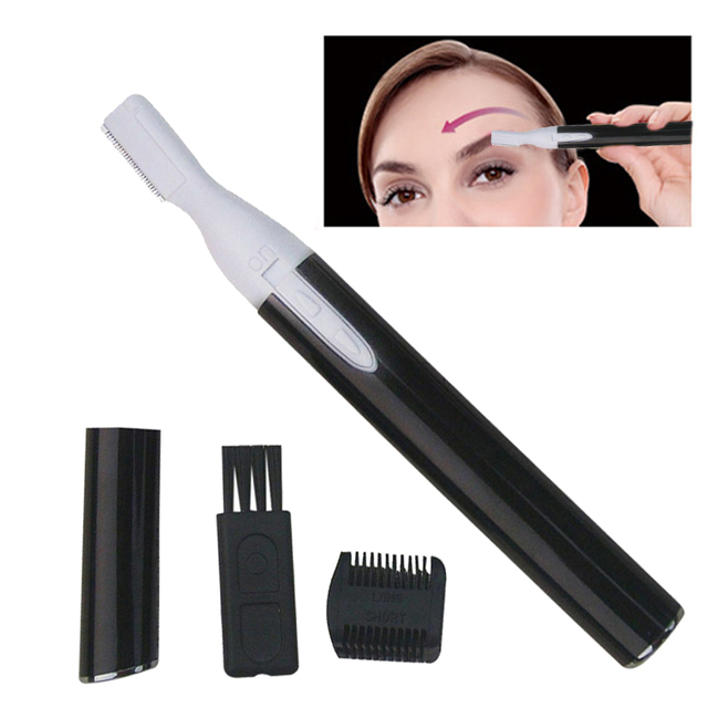 1pc Electric Eye Brows Epilator Eyebrow Trimmer Mini Painless Eye Brow Epilator Eyebrow Trimmer Mini Shaver Razors for Women