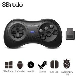 8Bitdo M30 Gamepad for Sega Genesis MD Mega Drive Controller for Nintendo Switch for Raspberry Pi Wireless PC Joystick Android