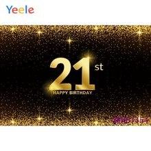 Фон для фотографий на заказ 21 30 50 день рождения баннер блестящий