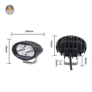 Image 5 - 2Pcs 20W LED Headlights LED Work Light Spotlight 6000K LED Driving Fog Lamp Offroad Car Truck Motorcycle Tractor 12V 24V