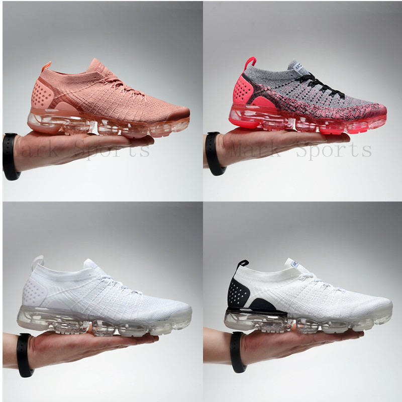 RUNNING SHOES Men Women Air Vapormax_ Ni2 Ke Max Sneakers Rubber Max Spring 0ff 2019 White Shoes