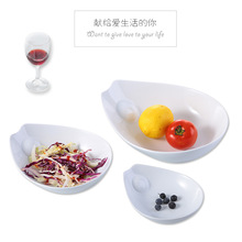 Ceramic fish bowl white vegetable salad Ceramic bowl large soup bowl Fresh Fruit Salad household tableware bowl creative brief 5 6 8 inch japanese cherry blossom ceramic ramen bowl large instant noodle rice soup salad bowl container porcelain tableware