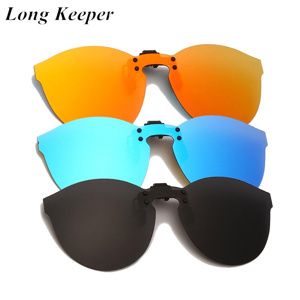 Очки солнцезащитные поляризационные для мужчин и женщин, модные, большие, с клипсой, с флип-ап линзами, для вождения ночью, желтые, 2021