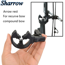 Archery Arrow Rest 3 Brushes for Compound Bow Hunting Recurve Bow Shooting Brush Capture Round Replacement Brush Bracket tp811c archery capture brush arrow rest camouflage