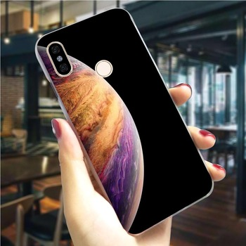 Earth Mars Saturn Planet Phone Case For Redmi 6A Cover 4X 4A 5 6 7A 5 Plus/5A 6/K20 Pro GO Note 4 4X 3/5/6/7 Pro Hard Cover image