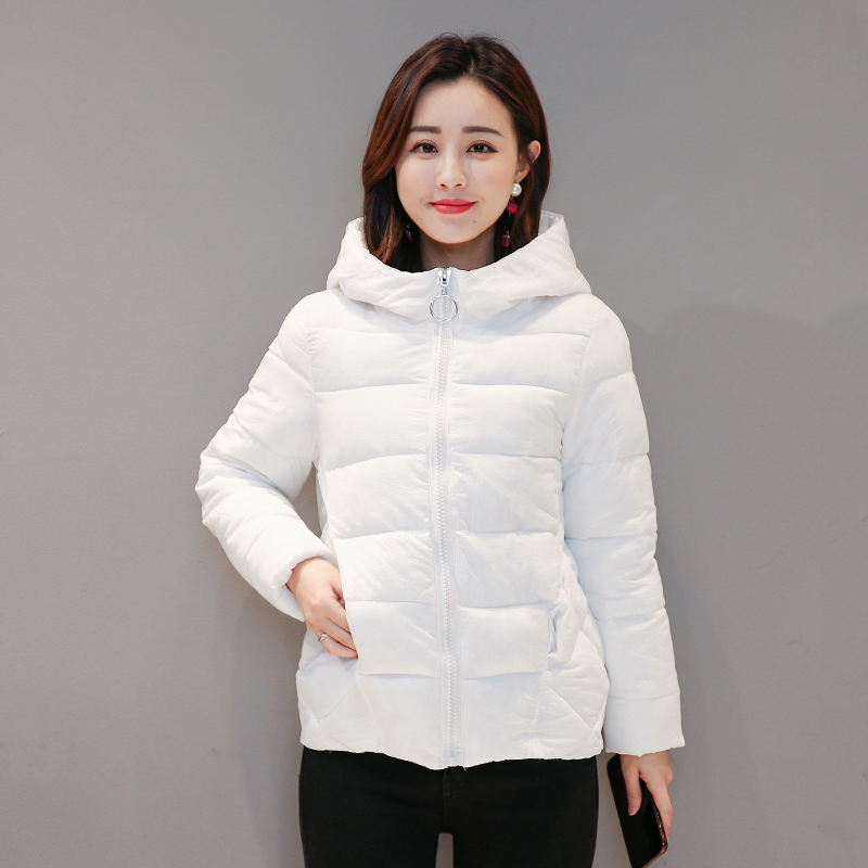 2019 New Winter Short Women's Jacket Large Size 4XL 5XL 6XL 7XL Female Hood Women   Parka   Plus Size Cotton Down Jacket Autumn