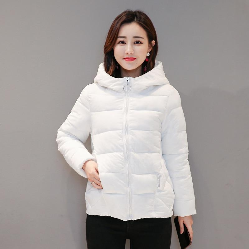 2019 New Winter Short Women's Jacket Large Size 4XL 5XL 6XL 7XL Female Hood Women Parka Plus Size Cotton Down Jacket Autumn