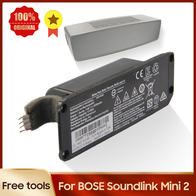Оригинальная запасная батарея для BOSE Soundlink Mini 2 II Bose 088789 088796 088772 батарея 2230mAh