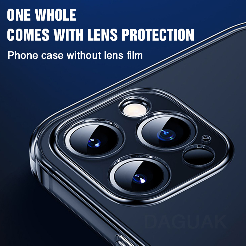 Camera Lens Protection Clear Phone Case For iPhone 12 Pro Max Cellphones & Telecommunications iPhone Cases/Covers Mobile Phone Accessories Phone Covers
