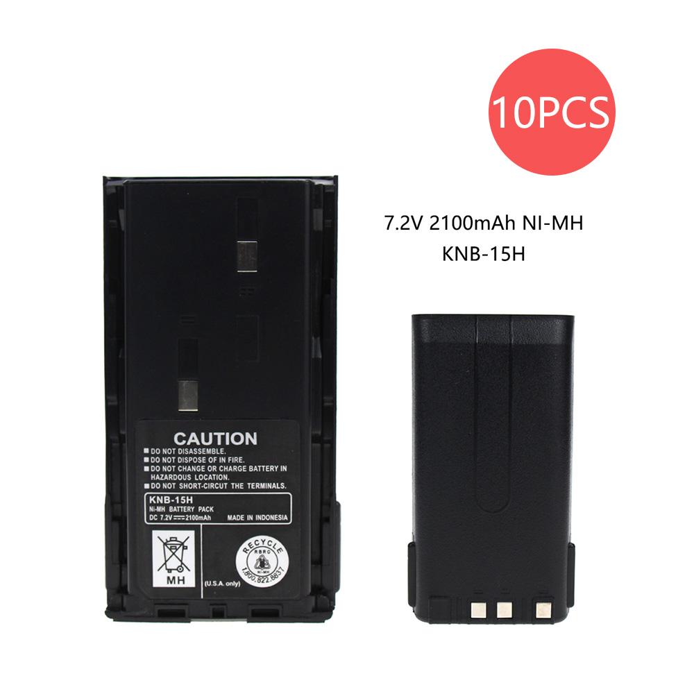 RB KEN KNB-15A 1800mAh Ni-MH Two-Way Radio Battery For Kenwood TK-260/360, TK-270/370 ProTalk TK-2100/3100
