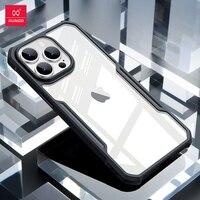 Xundd-Funda a prueba de golpes para iPhone 13 Pro Max, carcasa transparente a prueba de golpes para teléfono iPhone 13 Pro Max Mini