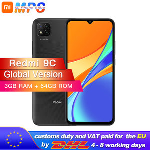 Global Version Xiaomi Redmi 9C Mobile Phone 3GB RAM 64GB ROM MediaTek Helio G35 6.53