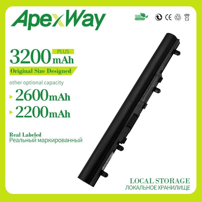 Apexway 4 zellen batterie für Acer AL12A32 für Aspire V5 V5-171 V5-431 V5-431G V5-531 V5-471 V5-571 V5-571G V5-571P V5-571PG