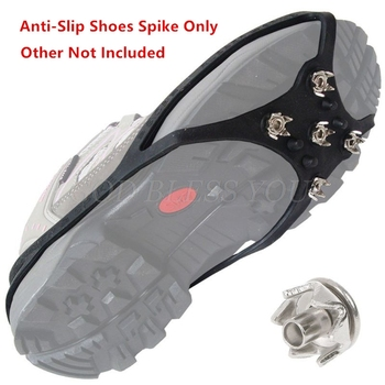 Anti Slip Ice Snow Grip Nails Hiking Ground Grippers Mountaineering Shoes Spikes Drop Shipping