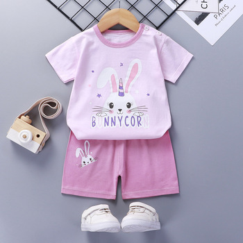 פיג'מות לתינוקות 2 חלקים מכנס וחולצה  26