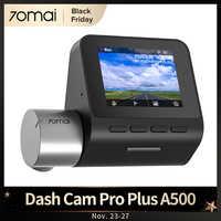 [Código promocional:BF2020ES3]70mai-Cámara de salpicadero inteligente Pro Plus, versión actualizada, DVR, GPS incorporado, cámara con grabadora para coche, Control por APP, grabadora de vídeo de coche en tiempo Real