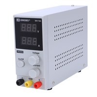 EASY 30V 10A LW K3010D Switching Regulated DC Power Supply LCD Dual Digital Display EU Plug