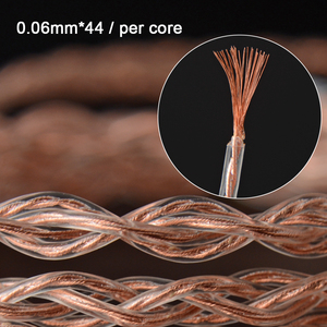Image 3 - NICEHCK 6N UPOCC Copper+Copper Silver Alloy Mixed Cable Litz 3.5/2.5/4.4 MMCX/0.78mm 2Pin/DQC 2Pin For MK3 Moondrop QDC TANCHJIM