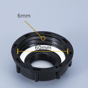 Image 3 - Фитинги для бака IBC S60X6, резьба до 1/2 дюйма 3/4 дюйма 1 дюйм, внутренняя резьба, адаптер для резервуара для воды, соединитель для садового шланга 5 шт./лот